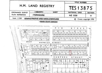 Thumbnail Land for sale in Hampden Street, South Bank, Middlesbrough