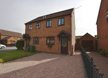 Thumbnail 2 bed semi-detached house for sale in Stable Lane, Market Drayton