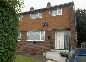 Thumbnail 3 bed semi-detached house to rent in Garden House Close, Barnsley
