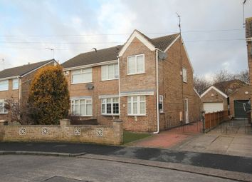Thumbnail 3 bedroom semi-detached house to rent in Normanton Rise, Hull