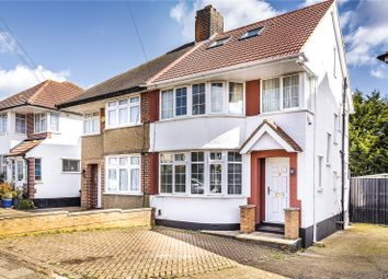 Thumbnail 4 bed semi-detached house for sale in Felbridge Avenue, Stanmore, Middlesex