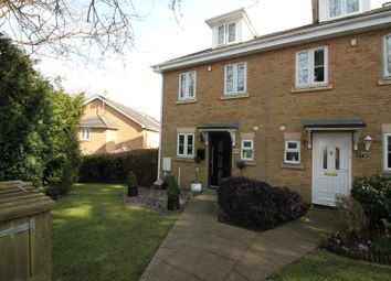 Thumbnail 3 bed end terrace house for sale in Tunbury Avenue, Chatham, Kent