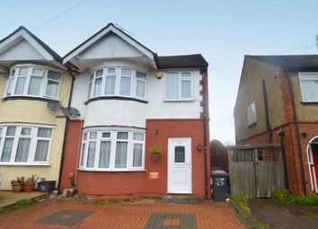 Thumbnail 3 bed semi-detached house to rent in Weatherby Road, Luton