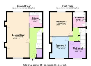 Thumbnail 3 bed semi-detached house for sale in The Newry, Aylestone, Leicester