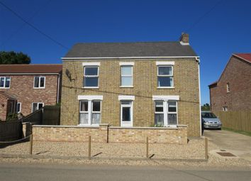 Thumbnail 3 bed detached house to rent in Pius Drove, Upwell, Wisbech
