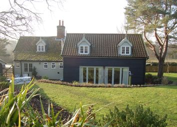 Thumbnail 3 bedroom detached house for sale in Ash Road, Lower Hacheston, Woodbridge