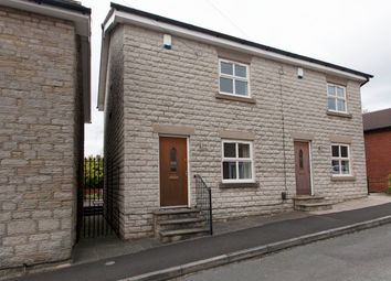 Thumbnail 3 bed semi-detached house for sale in Queen Street, Marple, Stockport