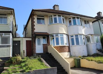 Thumbnail 3 bedroom semi-detached house for sale in Cardinal Avenue, Plymouth