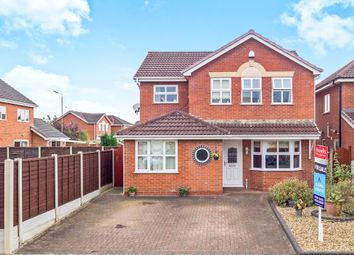 Thumbnail 4 bed detached house for sale in Dale Brook, Hilton, Derby