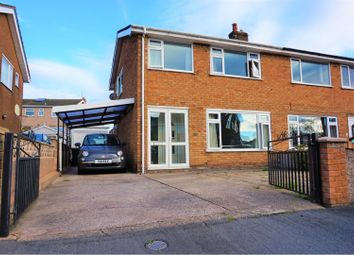 Thumbnail 3 bed semi-detached house for sale in Tan Y Maes, Llandudno Junction