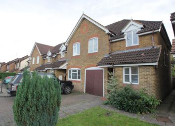 Thumbnail 3 bed semi-detached house to rent in Summerfield Place, Crawshaw Road, Ottershaw, Chertsey