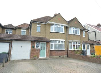 Thumbnail 3 bedroom semi-detached house for sale in Vallis Way, Chessington
