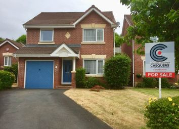 Thumbnail 3 bed detached house for sale in Foxglove Close, Barnstaple