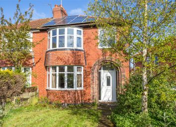 Thumbnail 3 bed semi-detached house to rent in Bishopthorpe Road, York, North Yorkshire