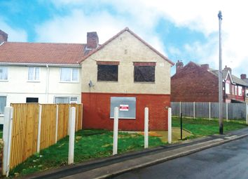 Thumbnail 2 bedroom end terrace house for sale in Staveley Street, Edlington, Doncaster