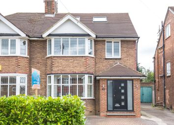 Thumbnail 4 bedroom semi-detached house for sale in Cissbury Ring South, Woodside Park, London