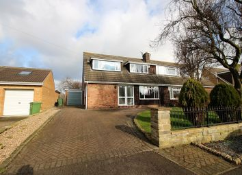 Thumbnail 4 bed semi-detached house for sale in North Lane, York