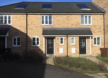 Thumbnail 2 bed terraced house for sale in Cutters Close, Beck Row