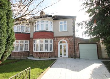 Thumbnail 3 bed semi-detached house to rent in Ringwood Way, London