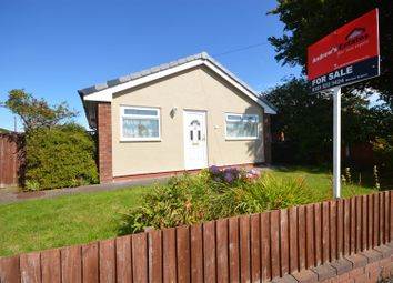 Thumbnail 2 bed detached bungalow for sale in Cobham Road, Moreton, Wirral