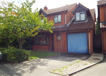 Thumbnail 4 bed detached house for sale in Halstead Grove, Solihull, West Midlands