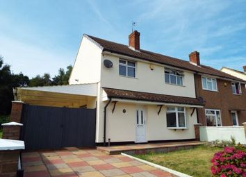 Thumbnail 3 bed semi-detached house for sale in Johnson Road, Cannock, Staffordshire