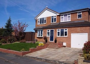 Thumbnail 5 bed detached house for sale in Sunart Close, Crewe