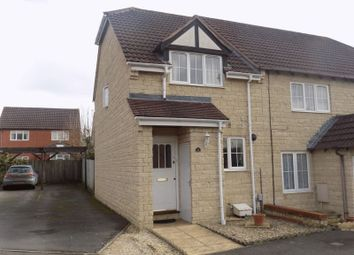 Thumbnail 2 bed end terrace house for sale in Gamekeepers Close, Swindon