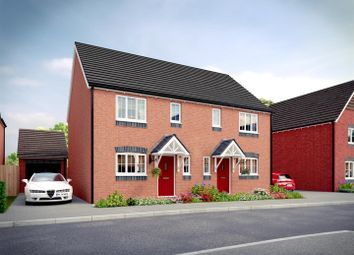 Thumbnail 3 bed semi-detached house for sale in Saxon Meadows, Kempsey, Worcester