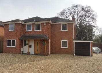 Thumbnail 4 bed detached house for sale in Riverside Road, West Moors, Ferndown
