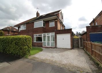 Thumbnail 4 bed semi-detached house to rent in Mayfield Road, Timperley, Altrincham