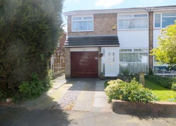Thumbnail 3 bed semi-detached house for sale in Deepdale Drive, Rainhill, Prescot
