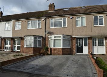 Thumbnail 4 bed terraced house to rent in Front Lane, Upminster