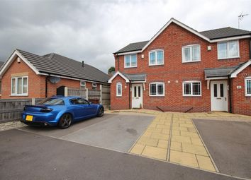 Thumbnail 3 bed semi-detached house for sale in Redbridge Close, Ilkeston