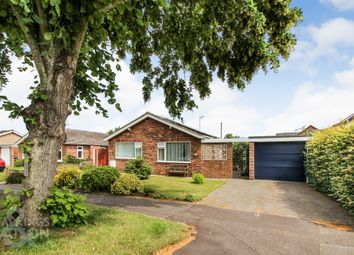 Thumbnail 2 bed detached bungalow for sale in Braydeston Crescent, Brundall, Norwich