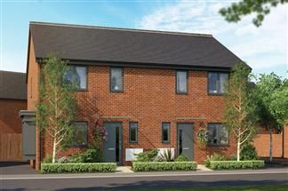 Thumbnail 3 bed semi-detached house for sale in Bredon Road, Tewkesbury, Wiltshire