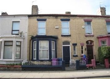 Thumbnail 4 bedroom terraced house to rent in Gainsborough Road, Wavertree, Liverpool