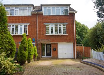 Thumbnail 4 bed town house for sale in High Road, Buckhurst Hill