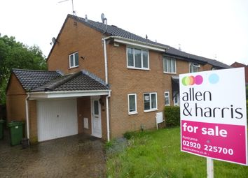 Thumbnail 2 bedroom end terrace house for sale in Tangmere Drive, Fairwater, Cardiff