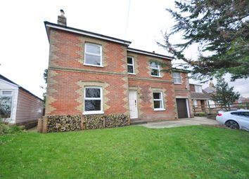 Thumbnail 4 bed detached house to rent in Main Road, Havenstreet, Ryde