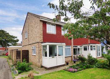 Thumbnail 3 bed end terrace house to rent in Fontwell Close, Rustington, Littlehampton