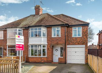 Thumbnail 4 bed semi-detached house for sale in Weaver Road, Uttoxeter