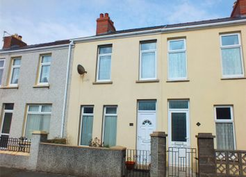 Thumbnail 3 bed terraced house for sale in Edward Street, Milford Haven, Pembrokeshire