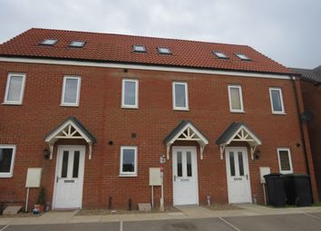 Thumbnail 3 bed town house for sale in Ferrous Way, North Hykeham, Lincoln