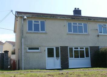 Thumbnail 3 bed semi-detached house for sale in Bro Llethi, Llanarth, Ceredigion