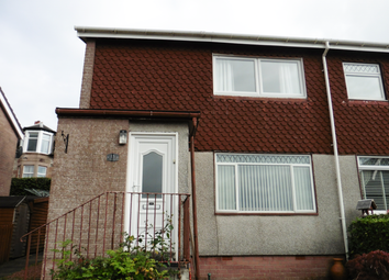 Thumbnail 2 bed semi-detached house for sale in 15 St Johns Drive, Rothesay, Isle Of Bute