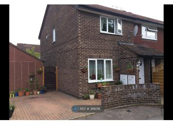 Thumbnail 2 bed end terrace house to rent in Corfe Gardens, Slough