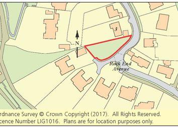 Thumbnail Commercial property for sale in Land Adjacent 3 Rock End Avenue, Torquay, Devon