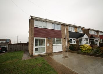 Thumbnail 3 bed semi-detached house to rent in Halt Drive, Linford, Stanford-Le-Hope