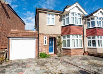 Thumbnail 3 bed semi-detached house to rent in Dulverton Road, London